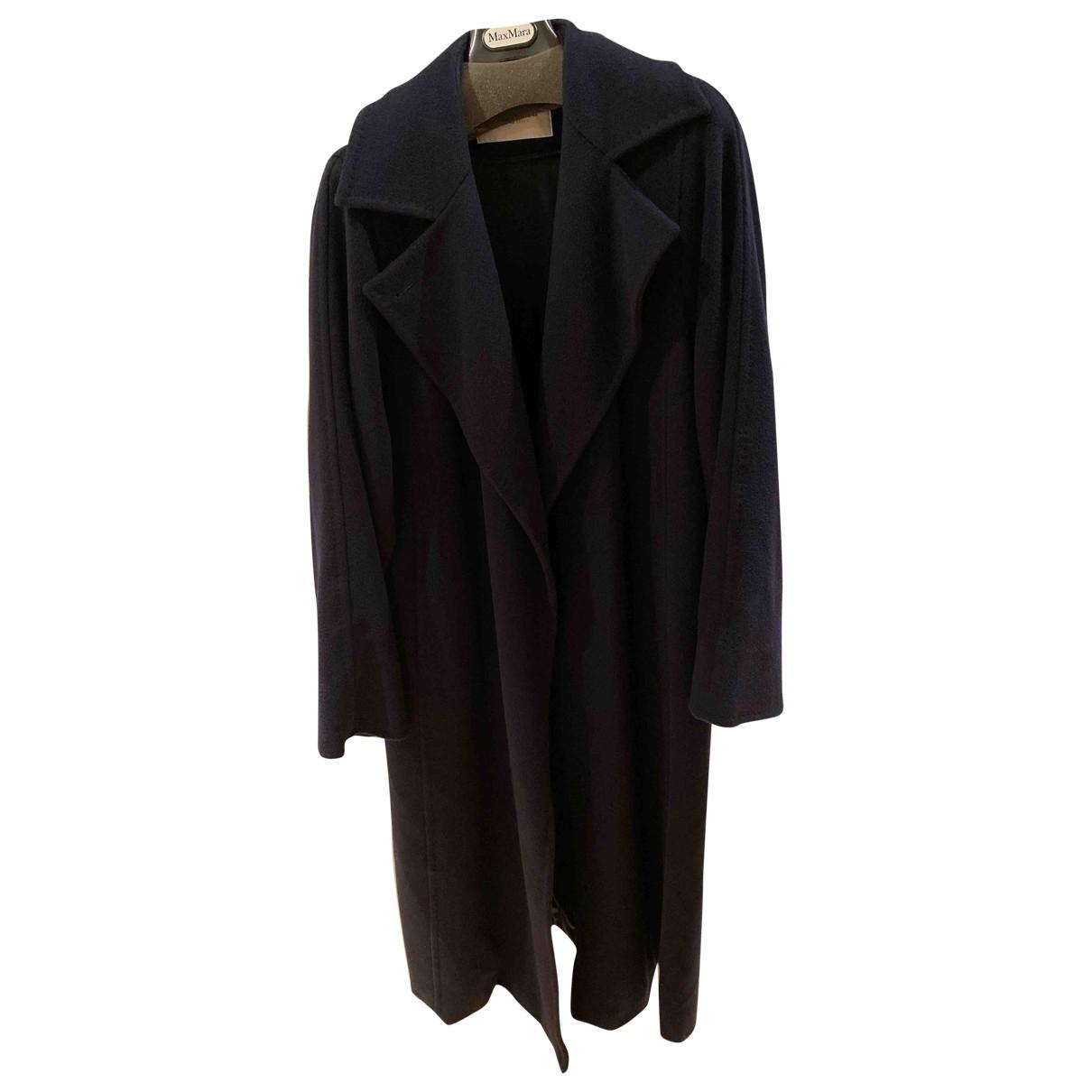 Max Mara Max Mara Atelier Blue Cashmere coat for Women 16 UK