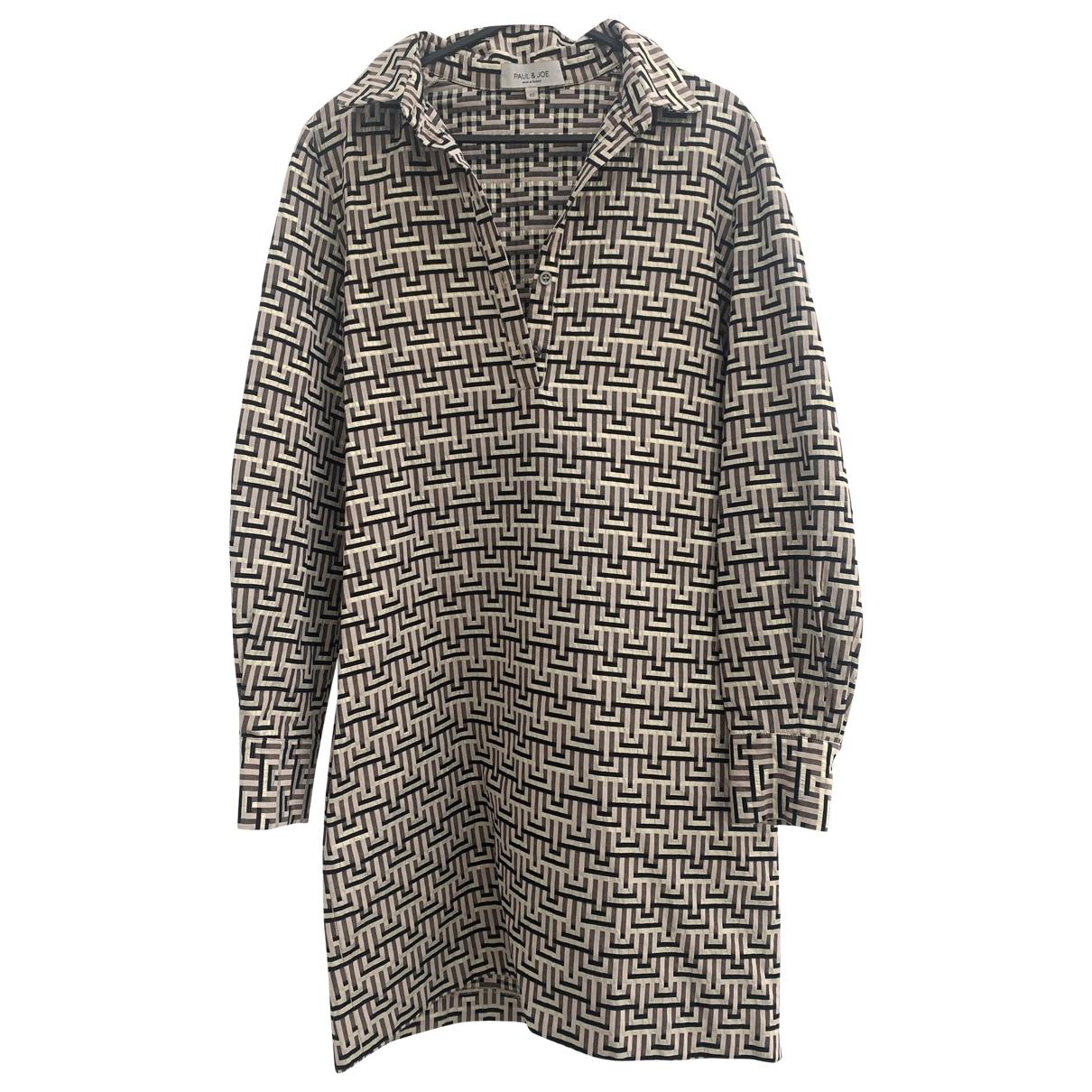 Paul & Joe \N Multicolour Cotton dress for Women 40 FR