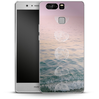 Huawei P9 Silikon Handyhuelle - Moontime Beach von Emanuela Carratoni
