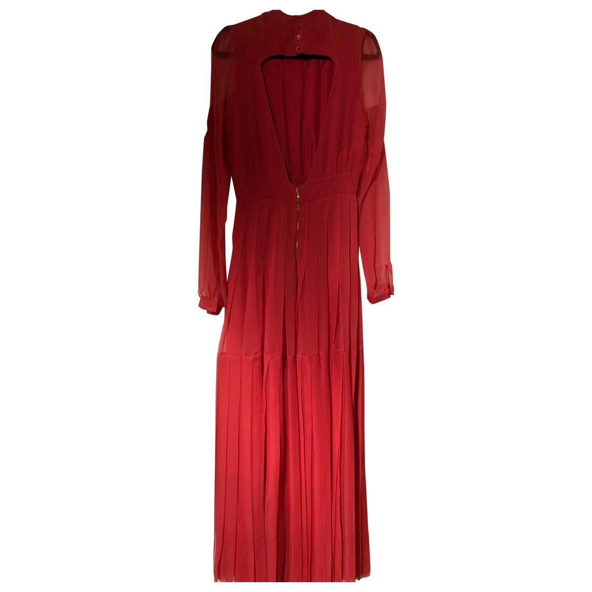 Rochas \N Kleid in  Rot Seide