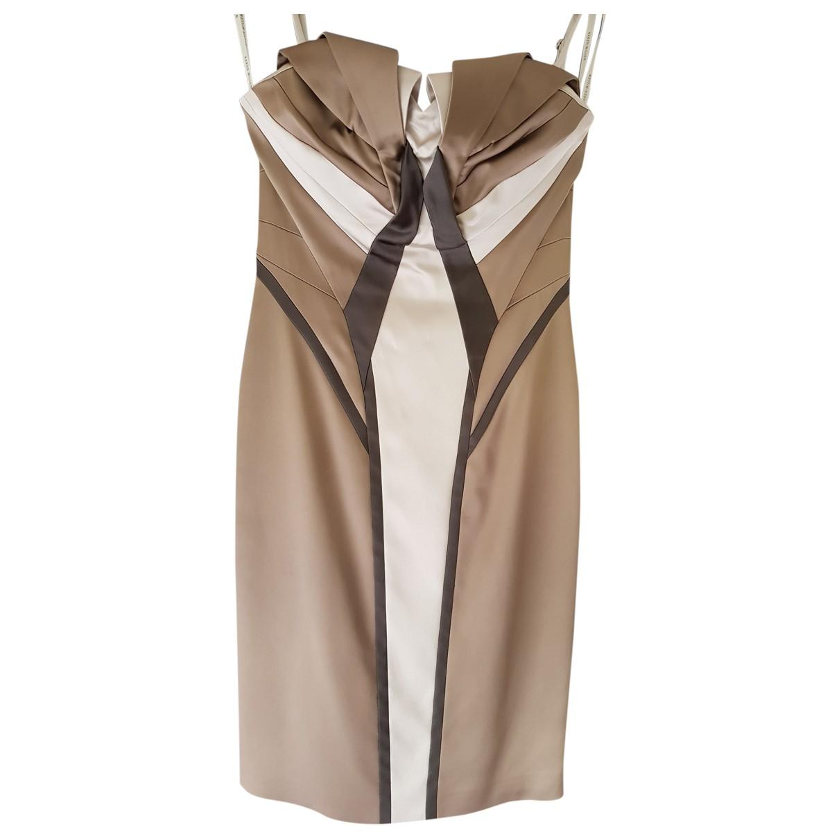 Karen Millen \N Kleid in  Braun Viskose