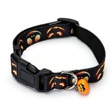 1 Stueck Hundehalsband mit Halloween Muster