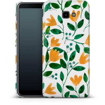 Samsung Galaxy J4 Plus Smartphone Huelle - Fresh Foliage  von Iisa Monttinen
