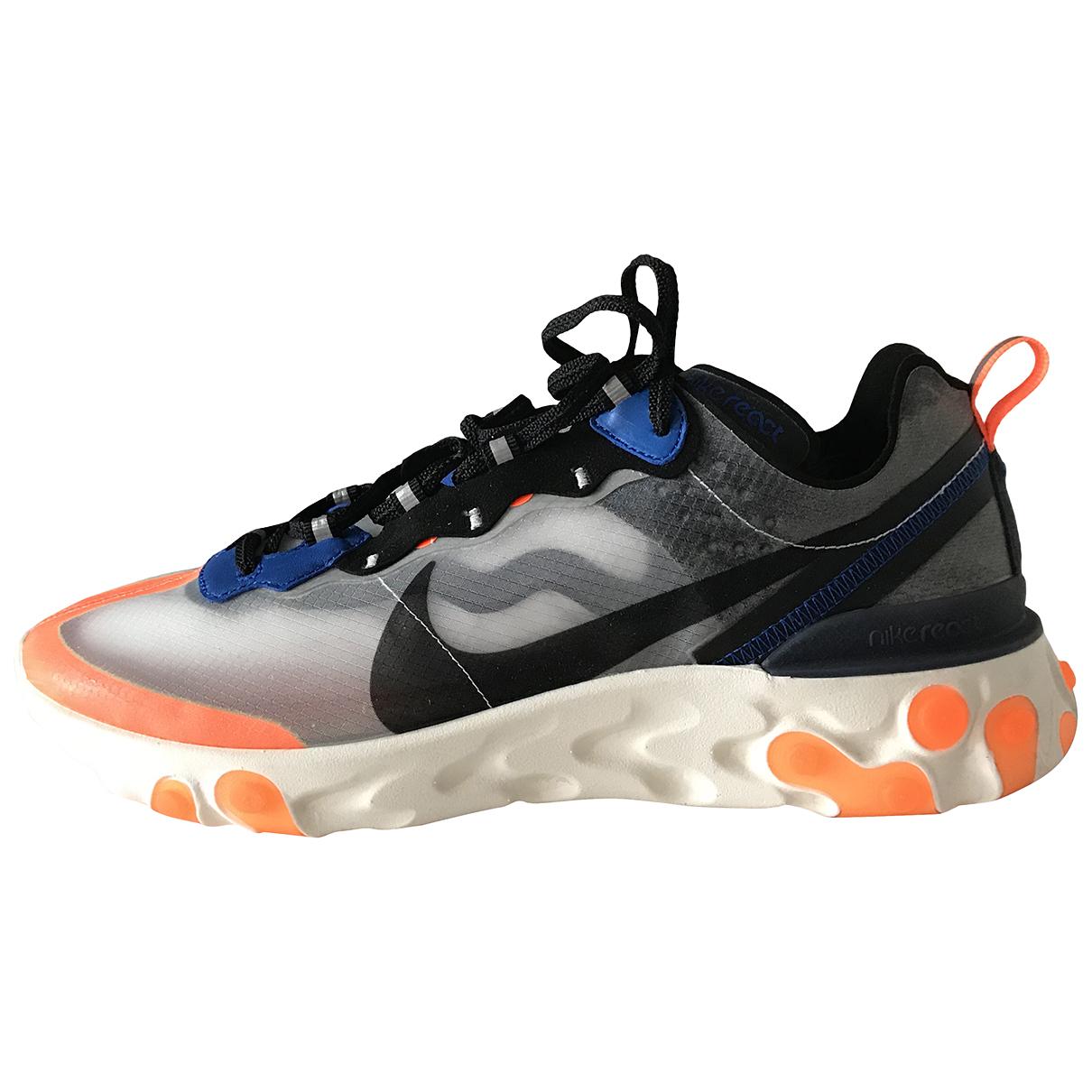Nike - Baskets React Element 87  pour homme en autre