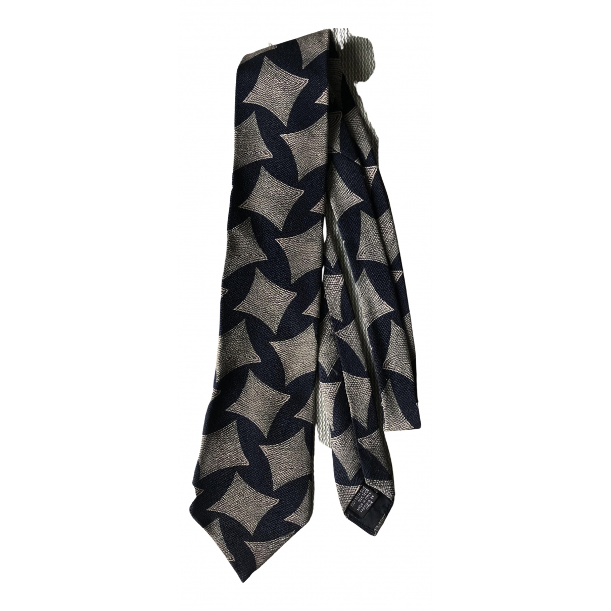 Emporio Armani N Blue Silk Ties for Men N
