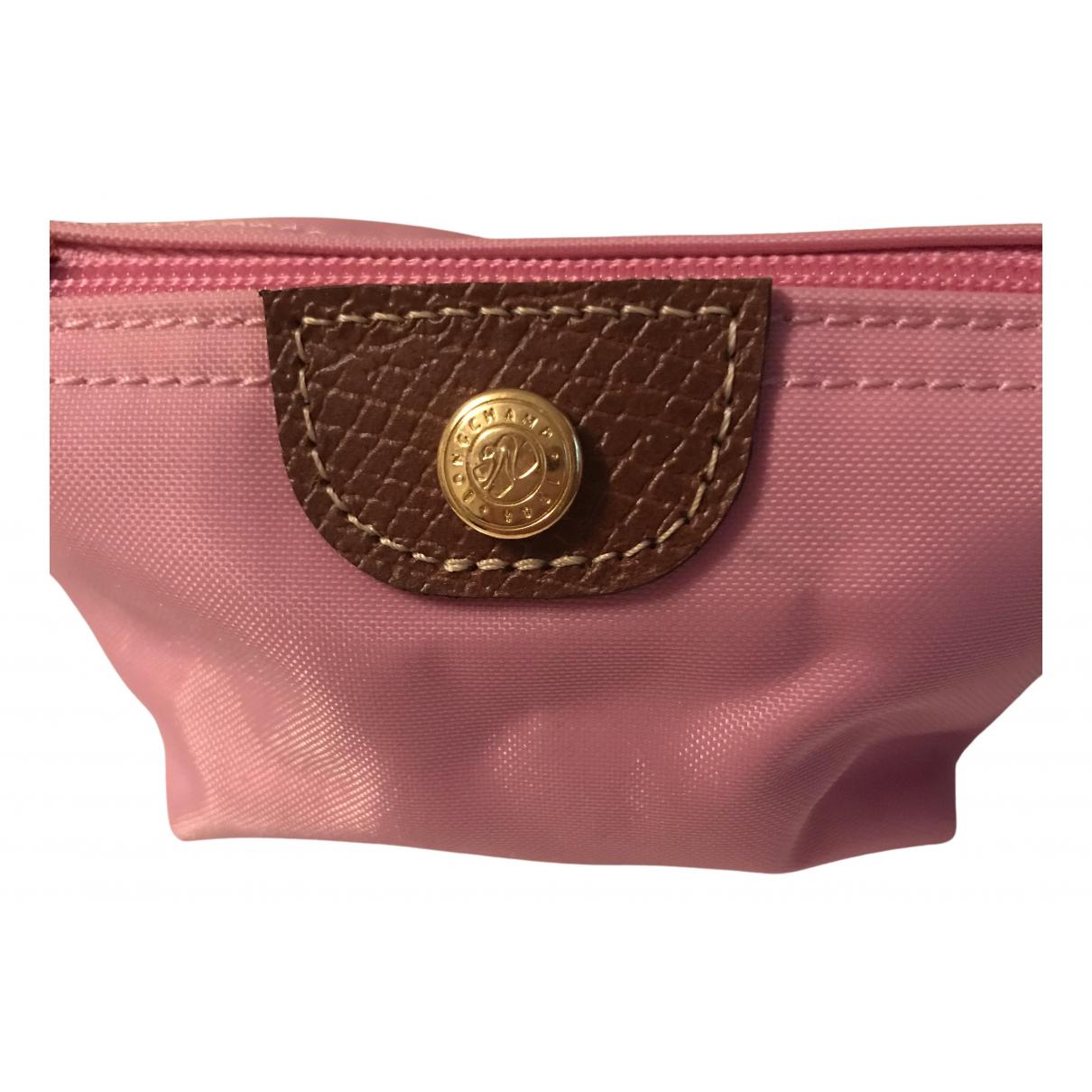 Longchamp \N Kleinlederwaren in  Rosa Synthetik