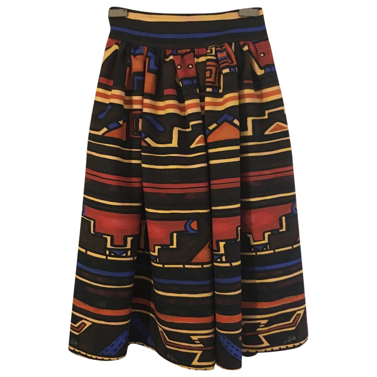 Stella Jean \N Multicolour Cotton skirt for Women 40 IT