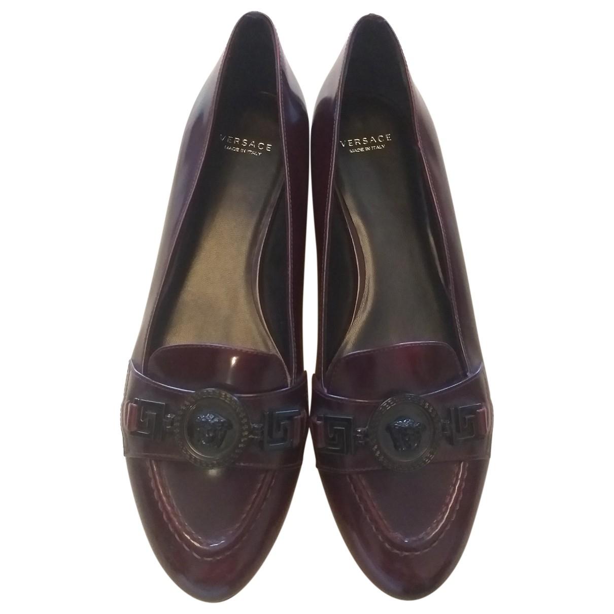 Versace \N Mokassins in  Braun Leder