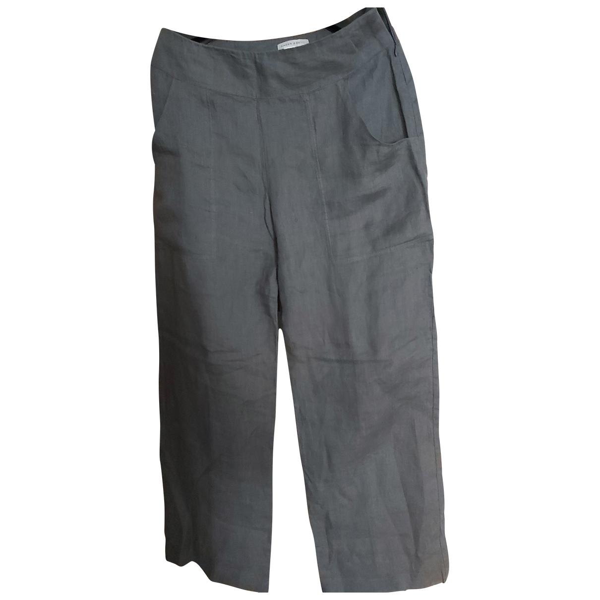 Pantalon de traje de Lino Non Signe / Unsigned