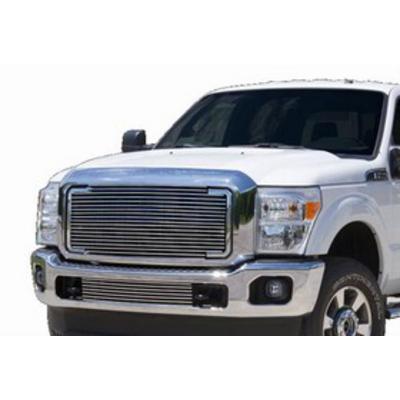 Carriage Works Billet Aluminum Grille Insert (Brushed Aluminum) - 44801