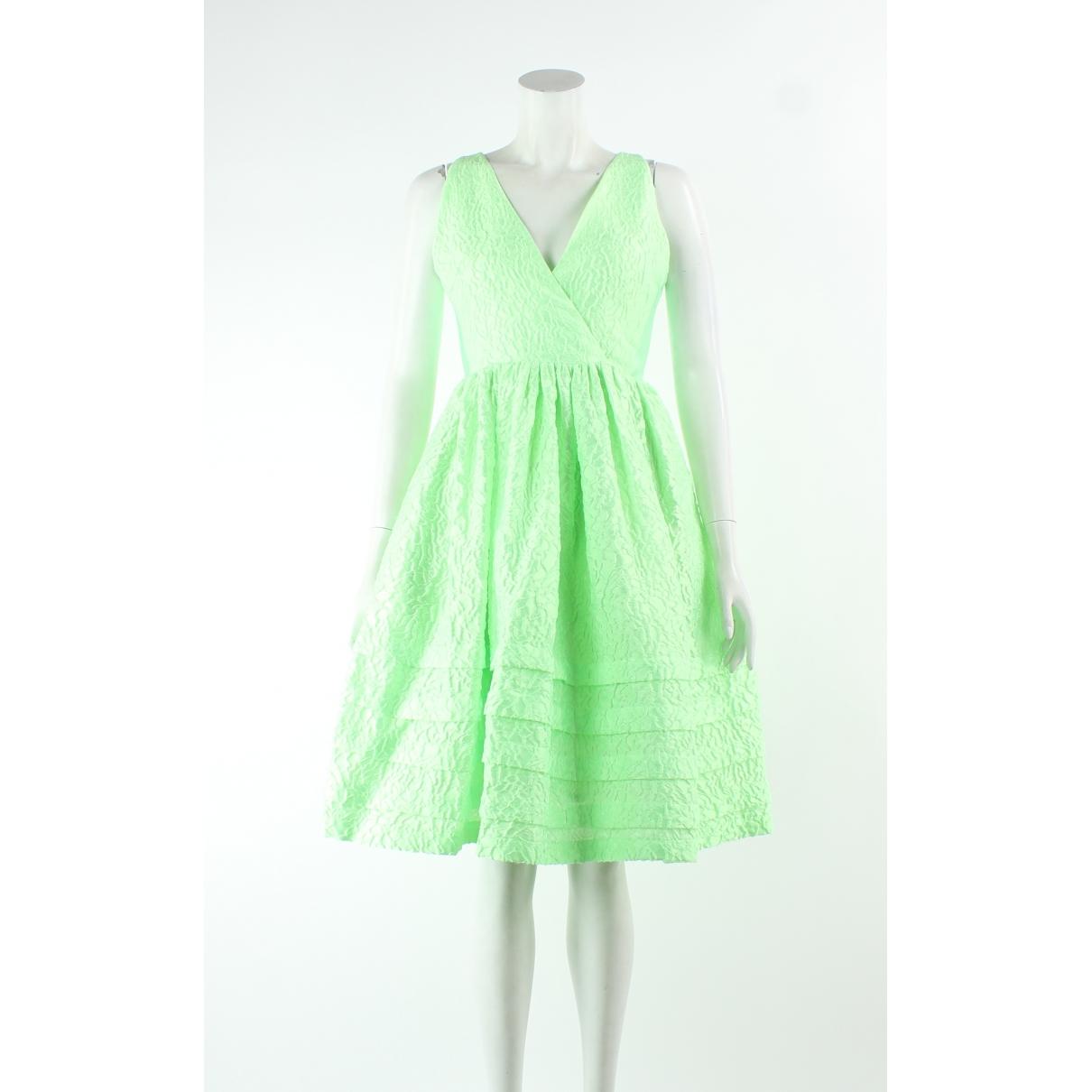 Jonathan Saunders \N Kleid in  Gruen Polyester
