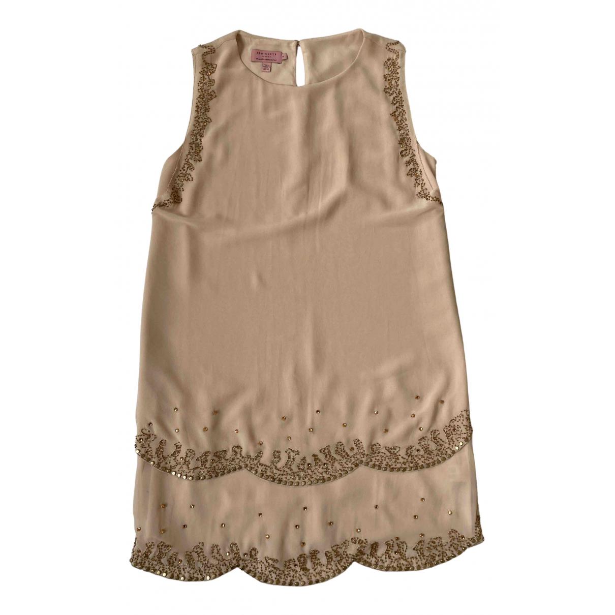 Ted Baker \N Kleid in  Rosa Polyester