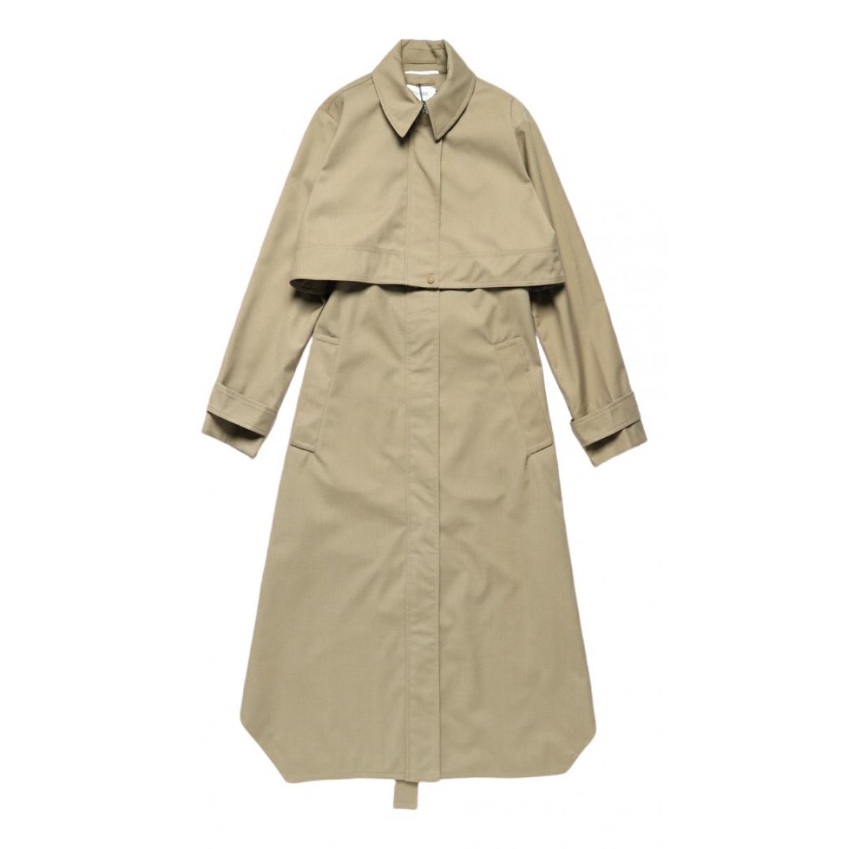 Sport Max \N Khaki Trench coat for Women 38 IT