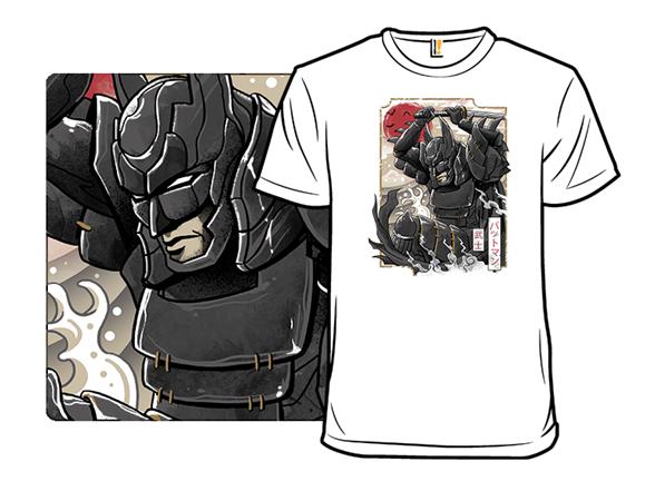 Dark Samurai Knight T Shirt