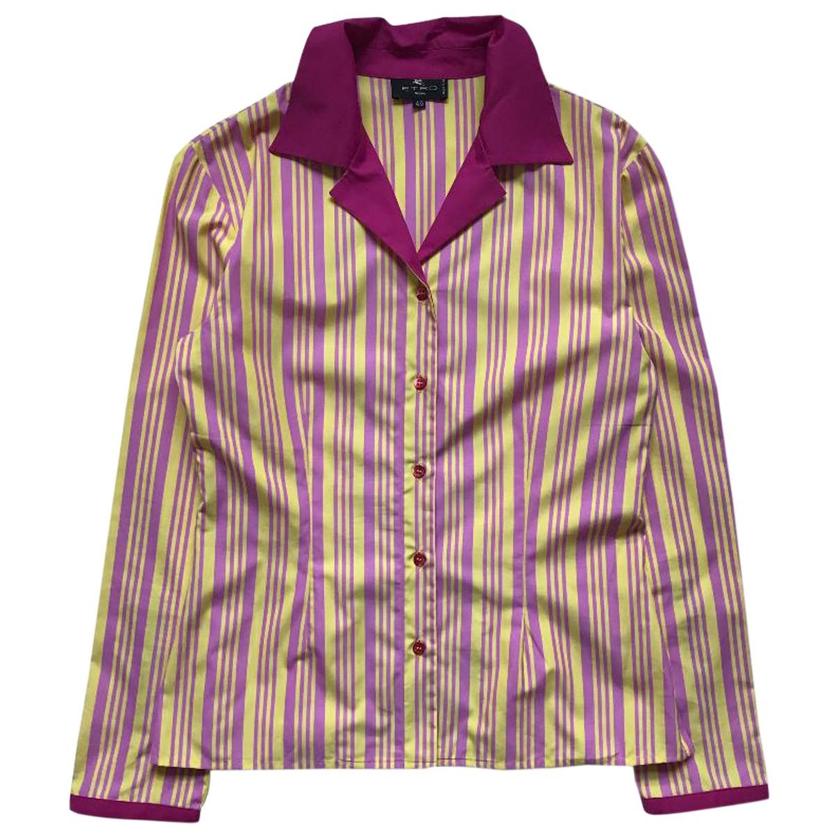Etro N Multicolour Cotton  top for Women 46 IT