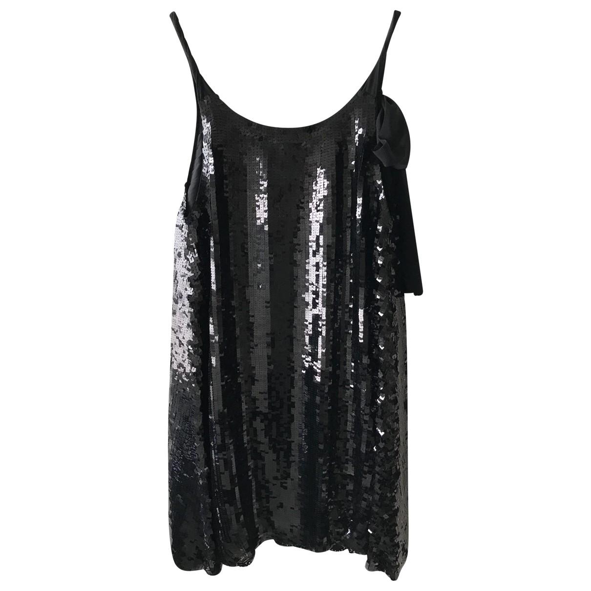 See By Chloé \N Black Glitter dress for Women 42 IT