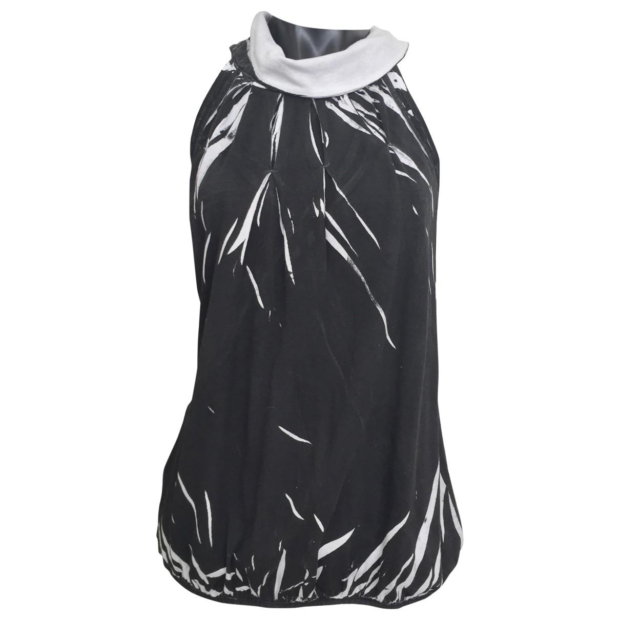 Diesel - Top   pour femme en coton - noir
