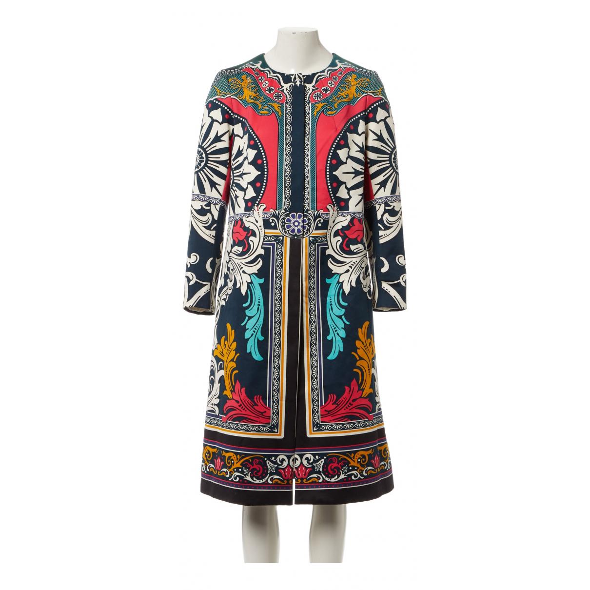 Mary Katrantzou - Manteau   pour femme en coton - multicolore