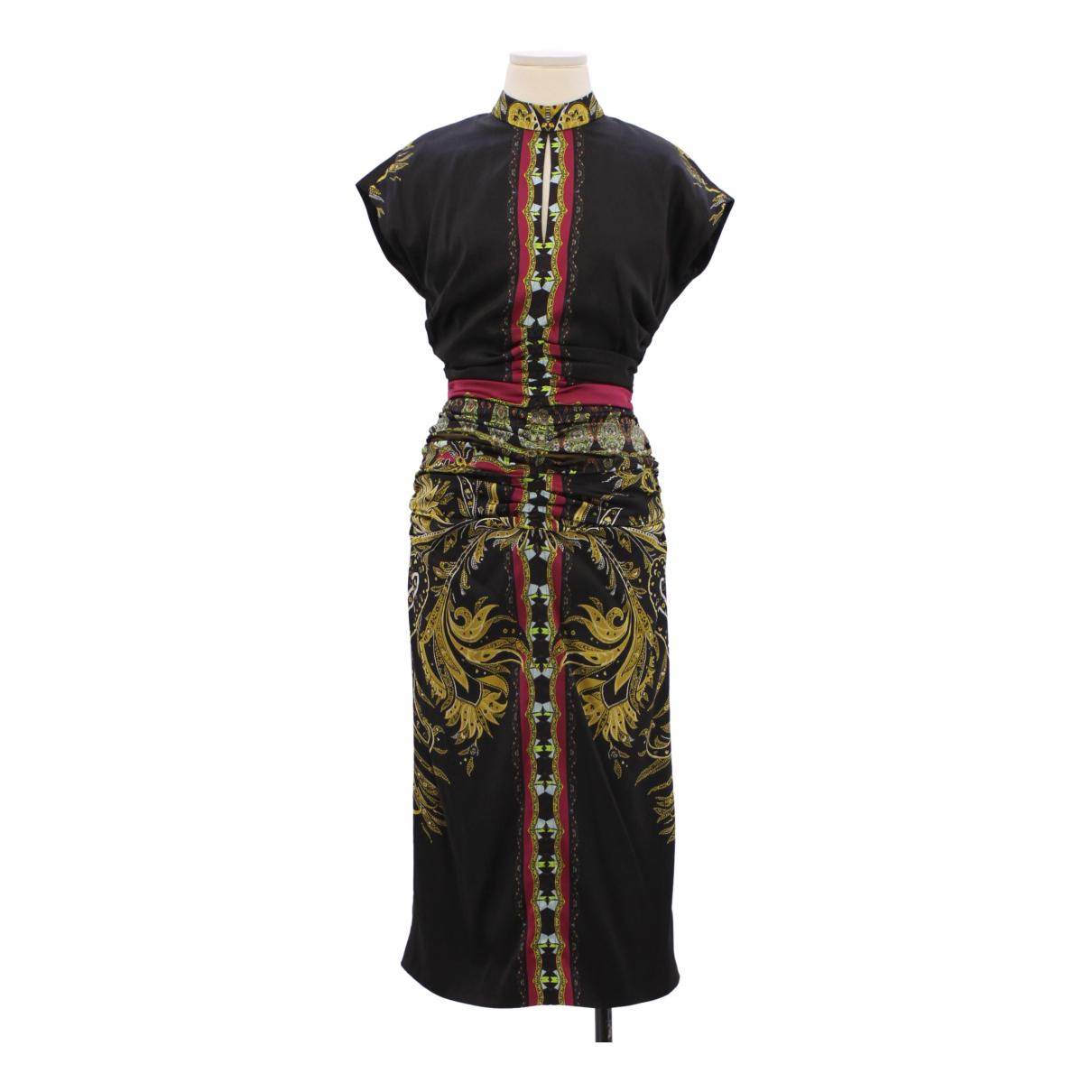 Etro \N Multicolour Silk dress for Women 42 IT