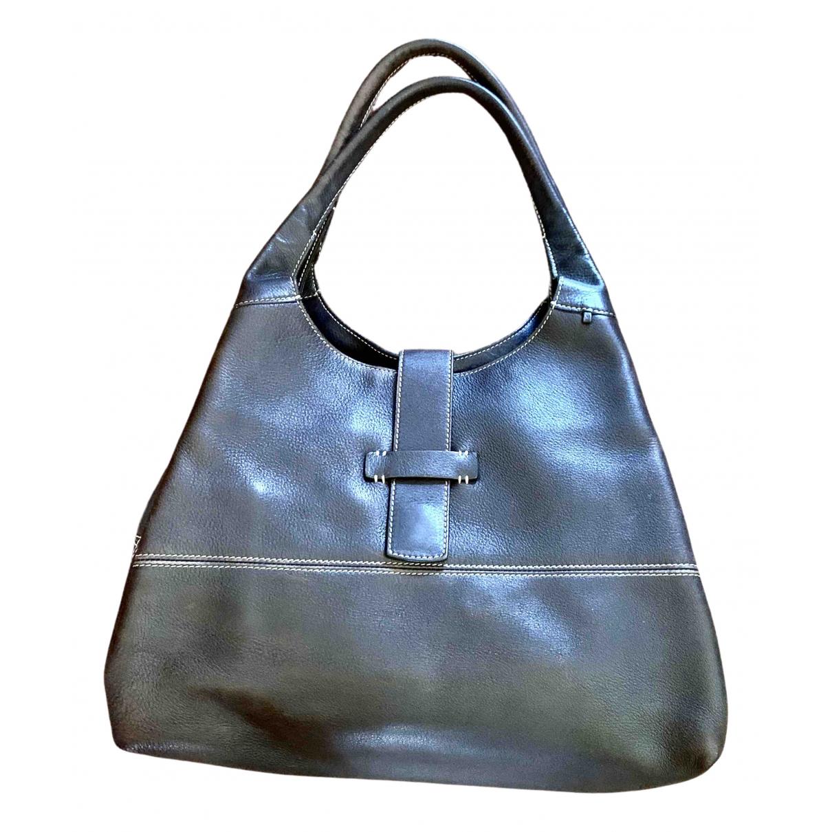 Loro Piana Bellevue Brown Leather handbag for Women \N