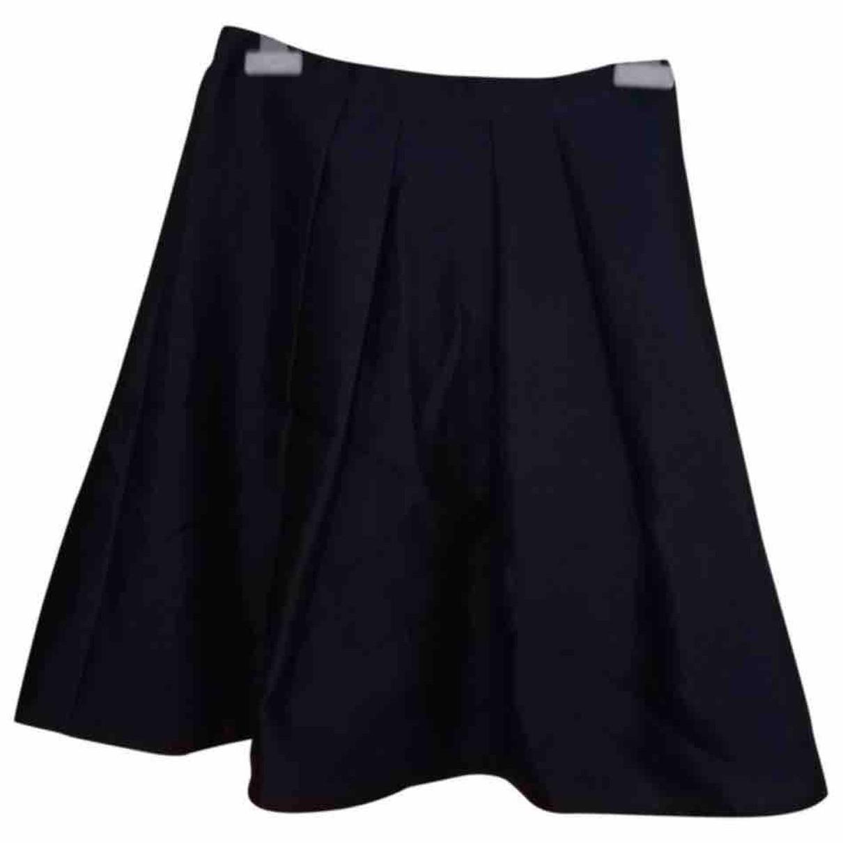 Burberry - Jupe   pour femme en soie - bleu