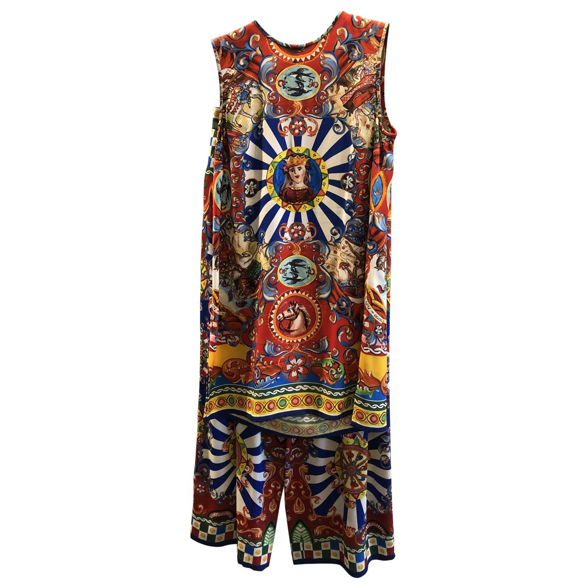 Dolce & Gabbana - Combinaison   pour femme en soie - multicolore