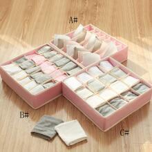 1pc Foldable Underwear Storage Box