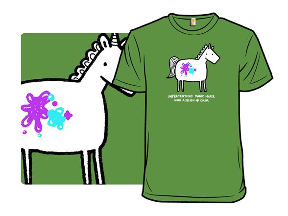 Unpretentious Unicorn T Shirt