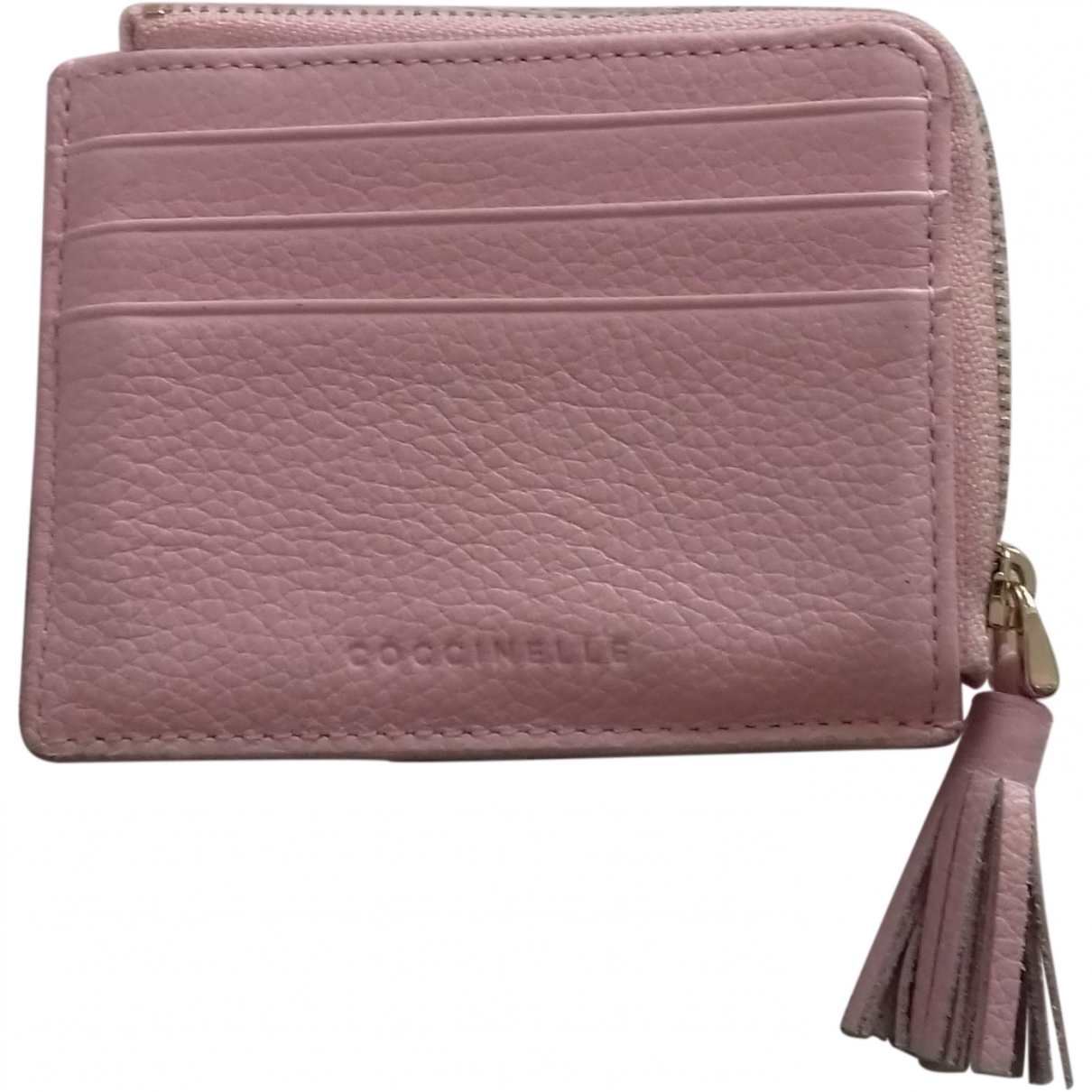 Coccinelle \N Pink Leather Purses, wallet & cases for Women \N