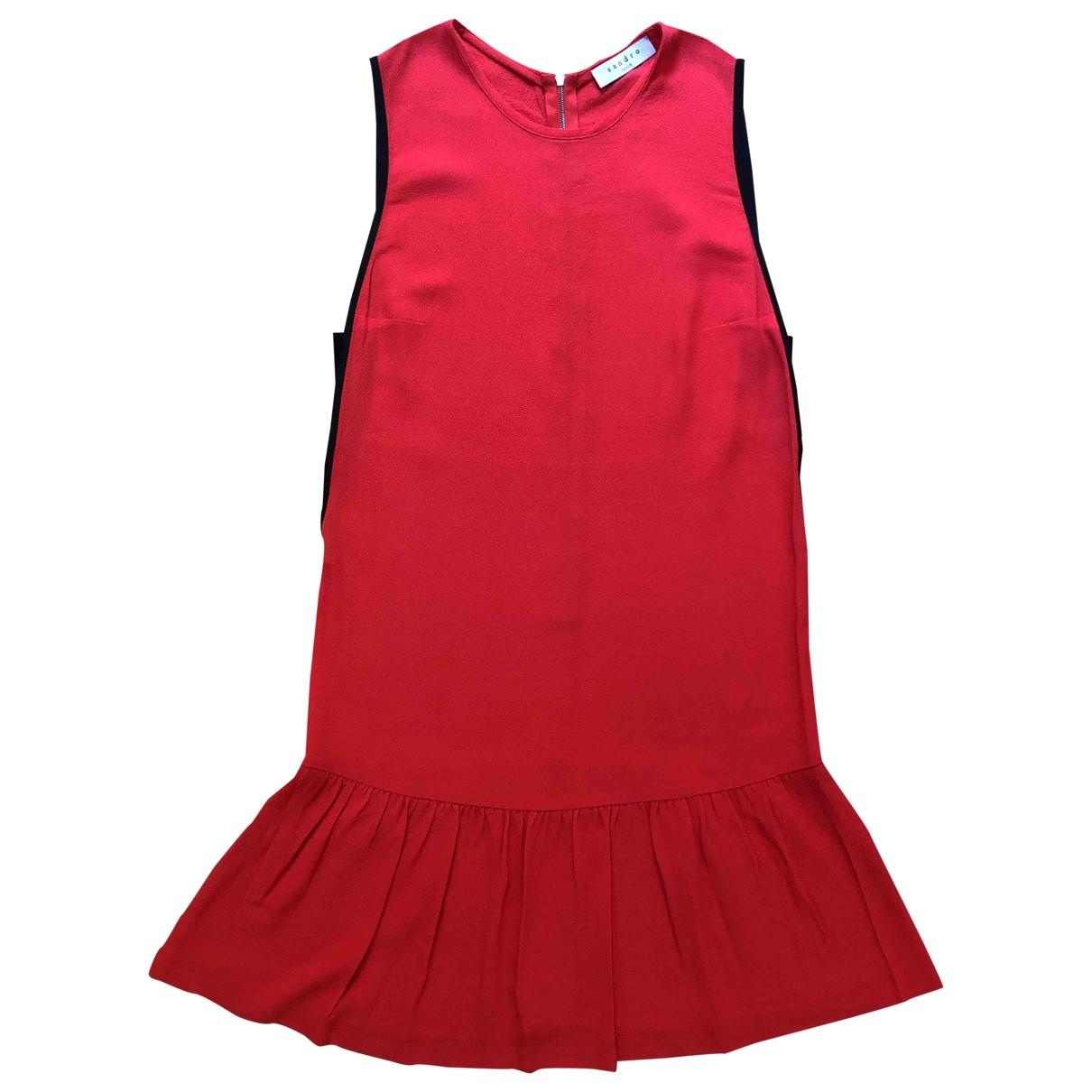 Sandro \N Orange dress for Women 1 0-5