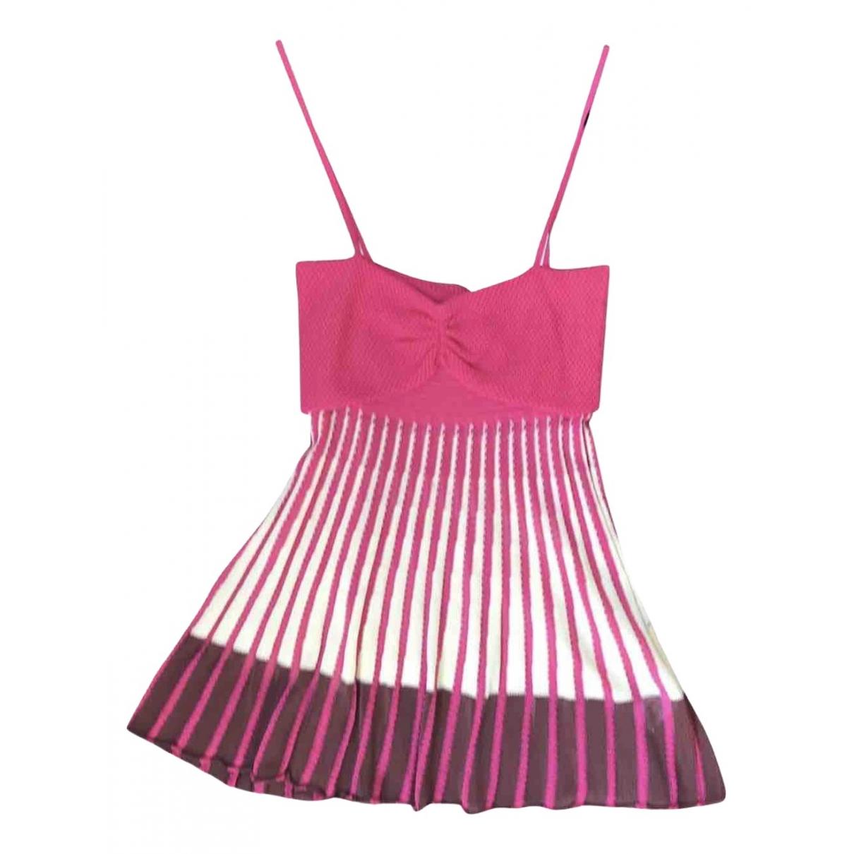 M Missoni - Top   pour femme en coton - rose