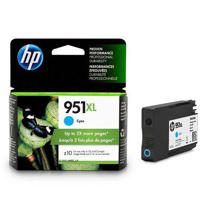 HP 951XL CN046AN#140 cartouche dencre originale cyan haute capacité