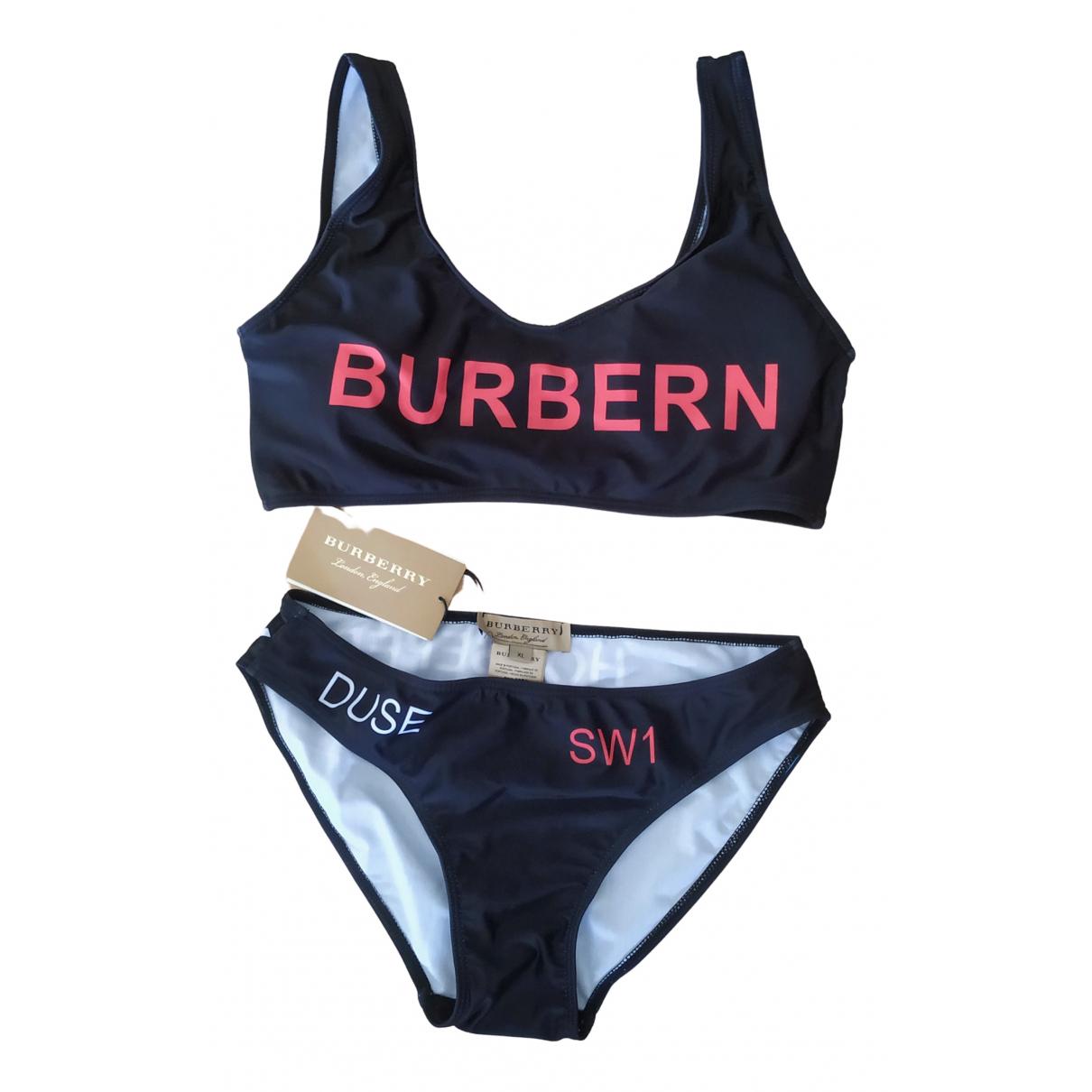 Burberry \N Badeanzug in  Schwarz Baumwolle