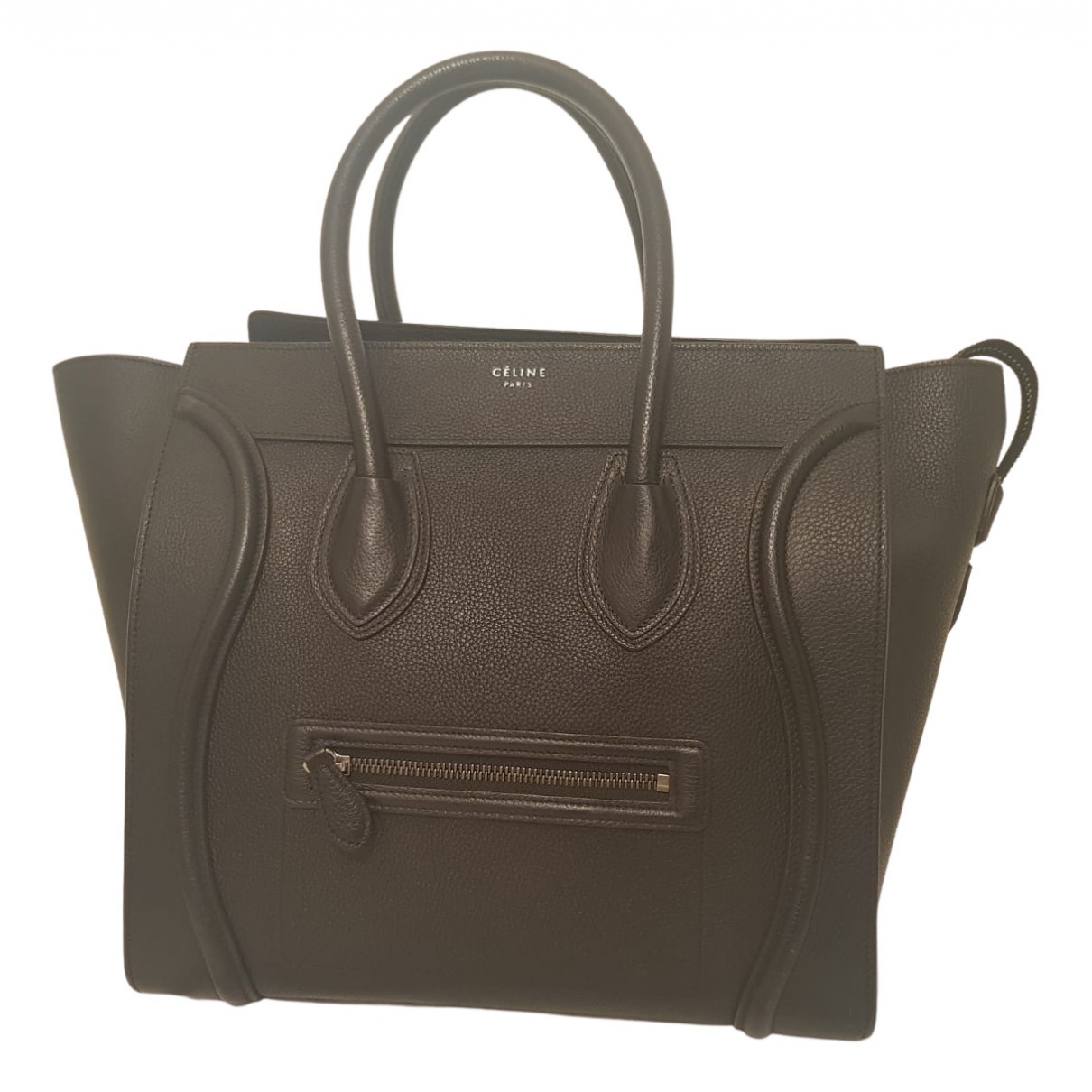 Celine Luggage Black Leather handbag for Women N