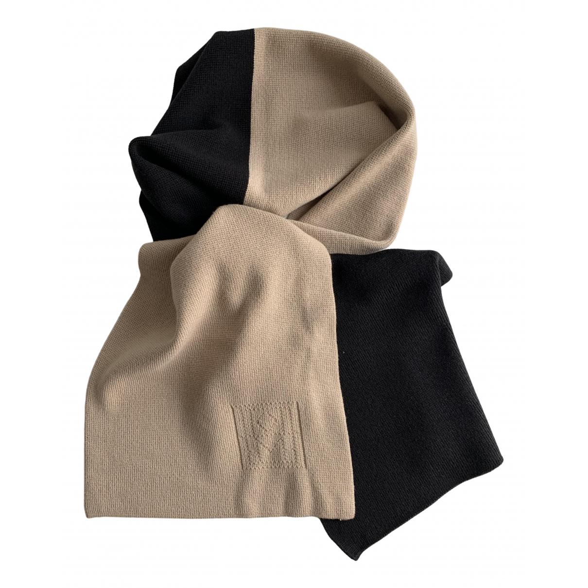 Toteme - Foulard   pour femme en laine - noir