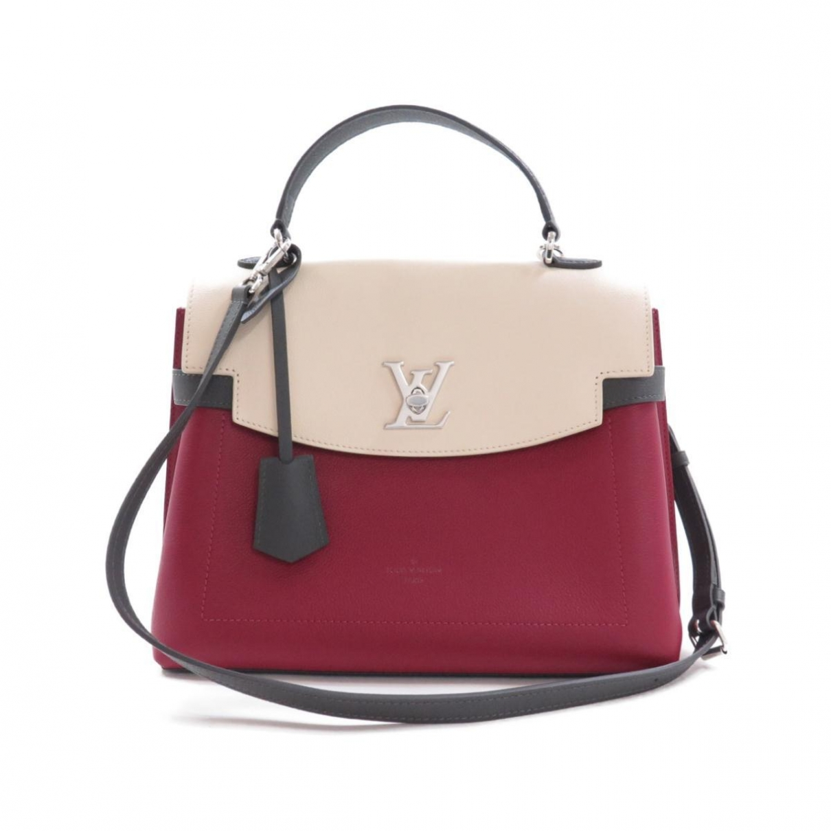 Louis Vuitton Lockme Handtasche in  Rot Leder