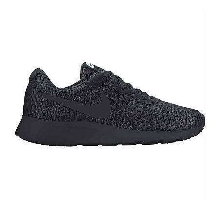 Nike Tanjun Womens Running Shoes, 6 Medium, Black