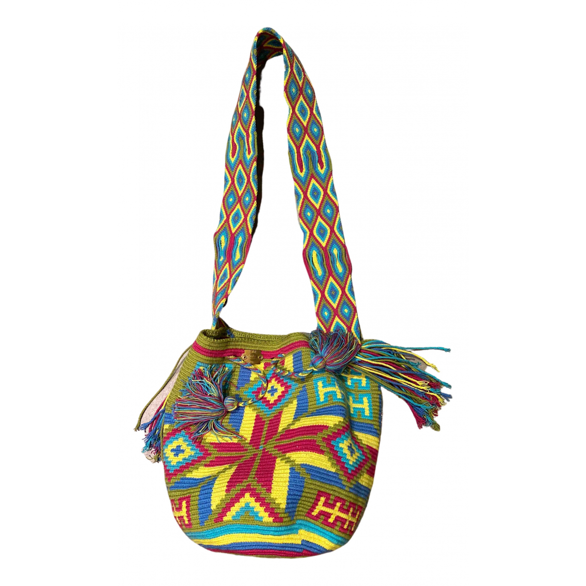 Gas N Multicolour Cotton handbag for Women N