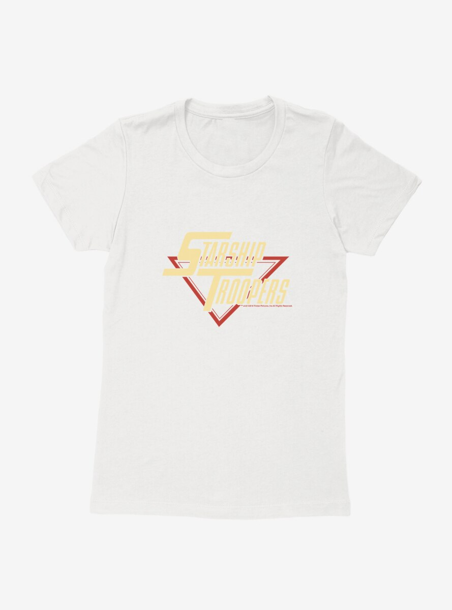 Starship Troopers Title Womens T-Shirt