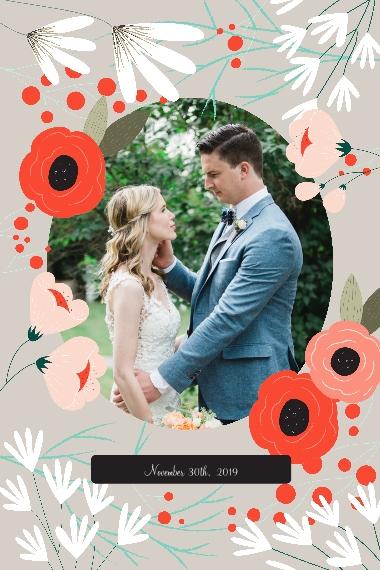 Wedding 20x30 Poster, Home Décor -Wedding Bouquet