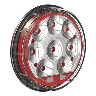 JW Speaker Model 234 LED Heated Stop/Tail/Turn Light (Red) - 0346261