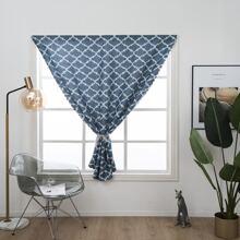 1pc Geometric Pattern Curtain