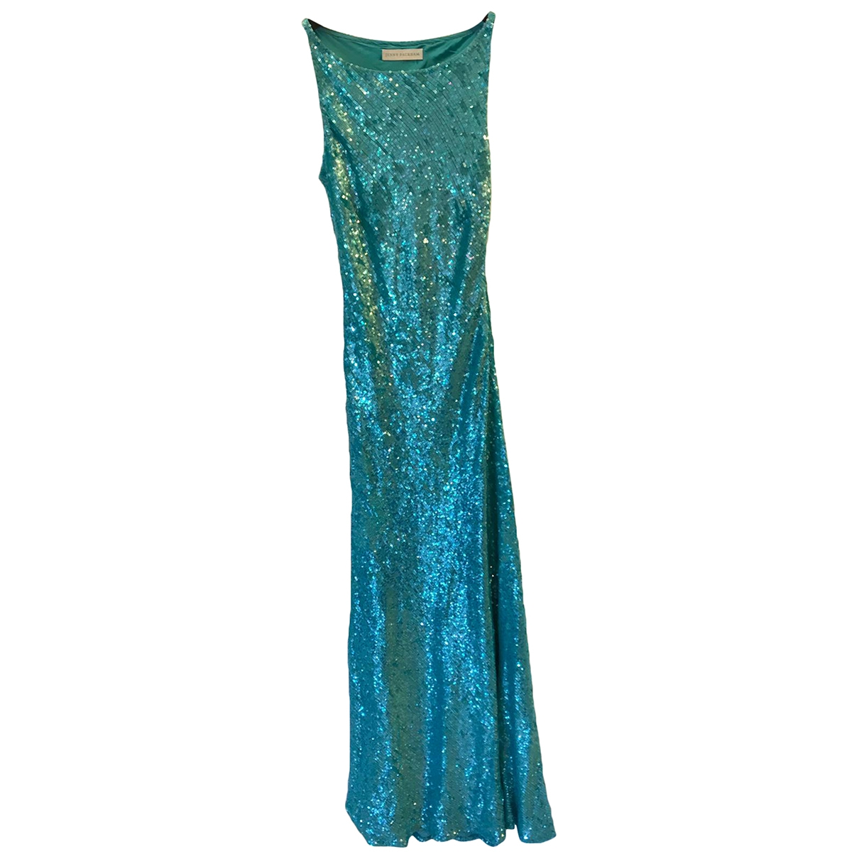 Jenny Packham \N Turquoise Glitter dress for Women 10 UK