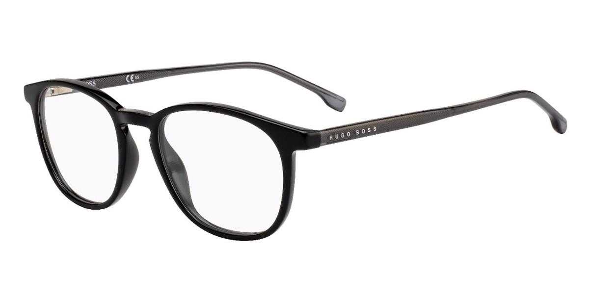 Boss by Hugo Boss BOSS 1087 807 Men's Glasses Black Size 51 - Free Lenses - HSA/FSA Insurance - Blue Light Block Available