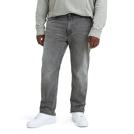 Levi's Mens 541 Tapered Athletic Fit Jean-Big and Tall, 34 38, Gray