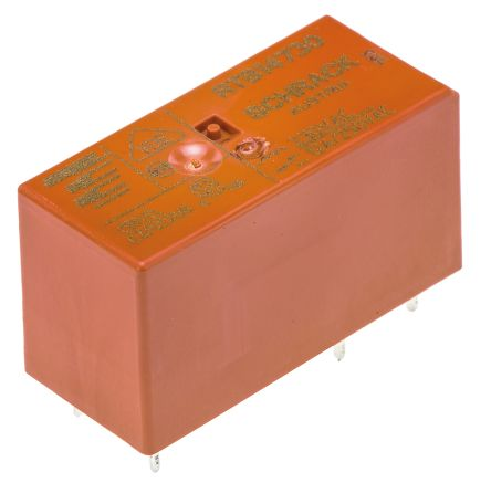 TE Connectivity , 230V Coil Non-Latching Relay SPDT, 12A Switching Current PCB Mount Single Pole