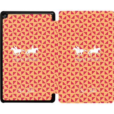 Amazon Fire HD 8 (2018) Tablet Smart Case - Triangle Silhouette von Ingrid Klimke