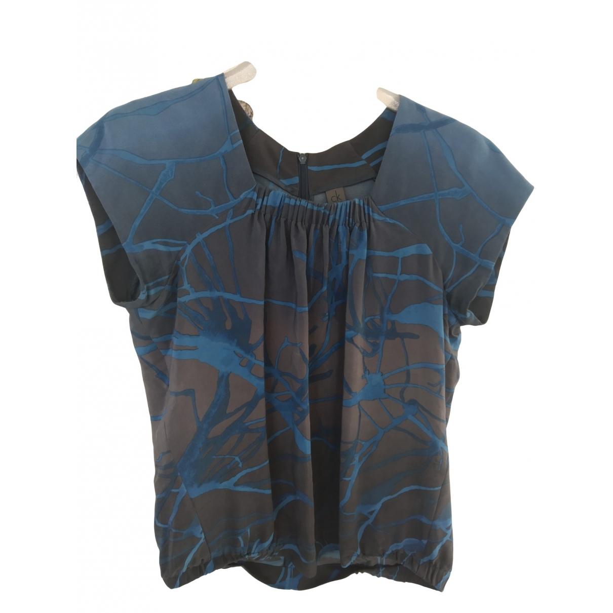 Calvin Klein \N Multicolour Silk  top for Women 42 IT