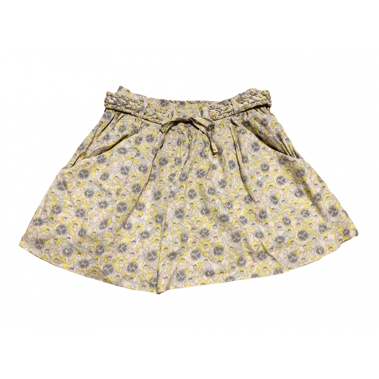 Vanessa Bruno Athe \N Yellow Cotton skirt for Women 34 FR