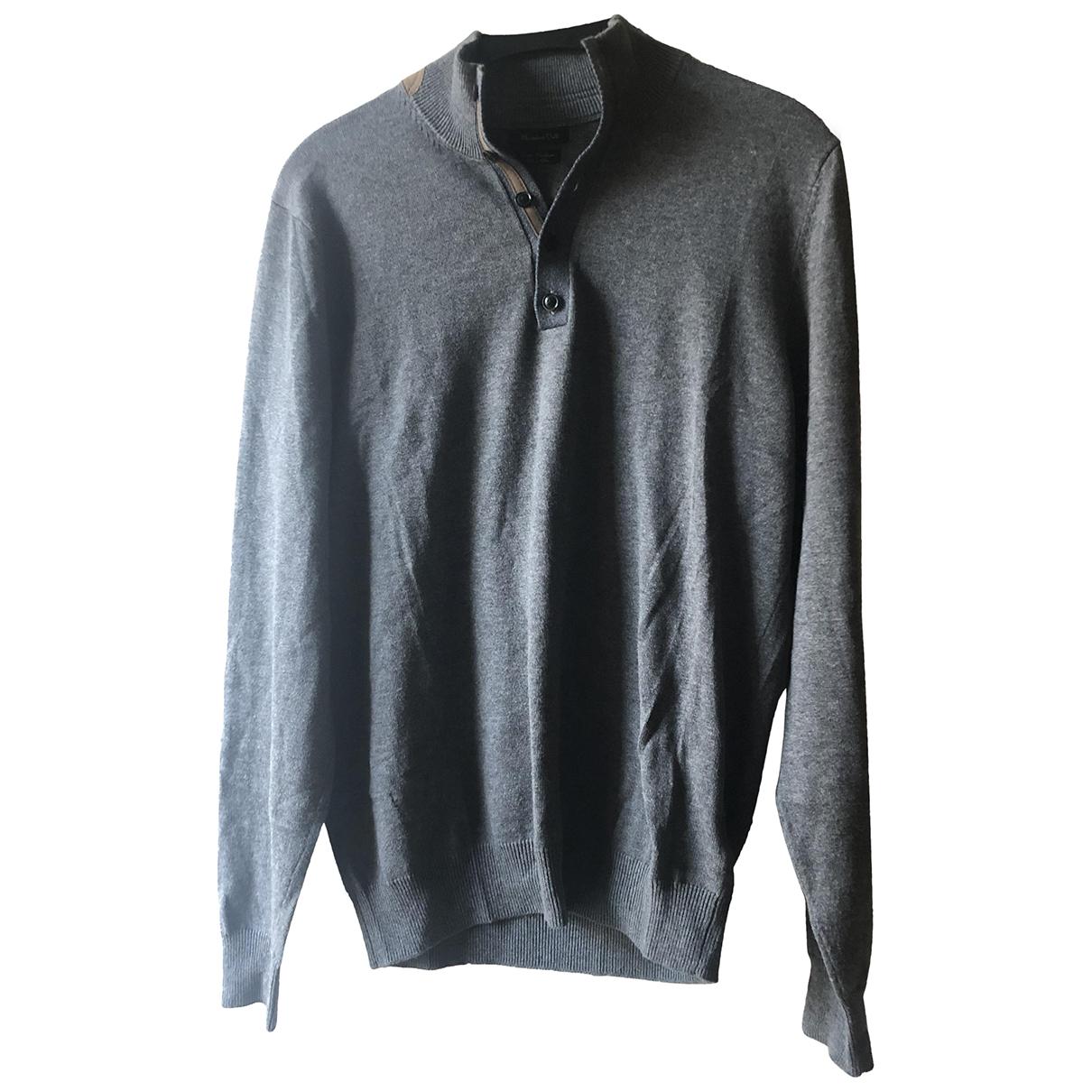 Massimo Dutti \N Pullover.Westen.Sweatshirts  in  Beige Baumwolle